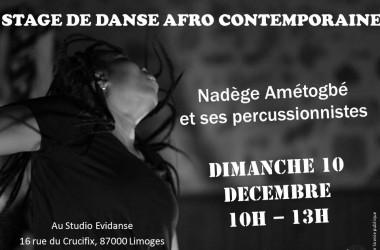 stage de danse Afro-contemporaine