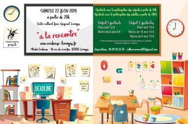 """SPECTACLE  2019 «A LA RENCONTRE"""""""